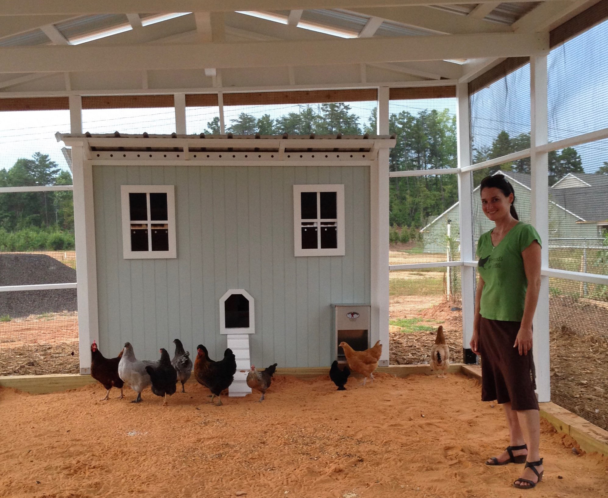 Commercial Chicken Coops Carolina Coops