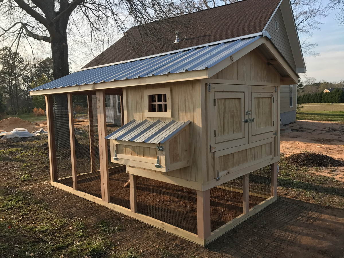 Carolina coop custom chicken coop by carolina coops for 3 chicken coop