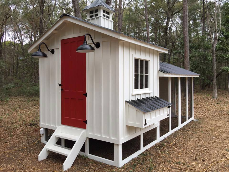 Carolina-Coops- custom-chicken coop-The Craftsman-6