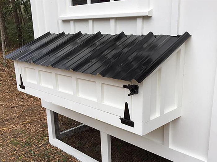 Carolina Coops-OPTIONS-extra-egg hutch