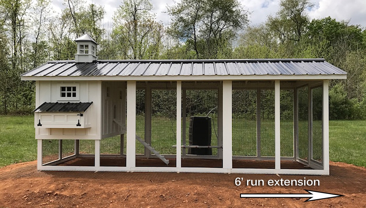 chicken coop kits run extension kits carolina coops 10965